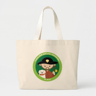 St. Roch Large Tote Bag