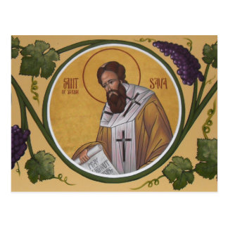St. Sava Prayer Card