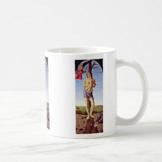 St. Sebastian By Botticini Francesco Coffee Mugs