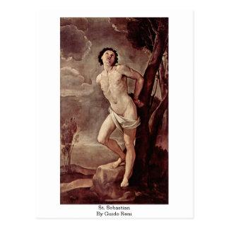 St. Sebastian By Guido Reni Postcard