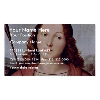 St Sebastian By Raffael Best Quality Business Card
