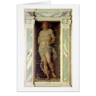 St. Sebastian Card