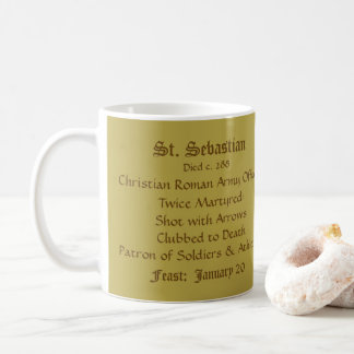 St. Sebastian (SNV 24) (Round) Coffee Mug 1a
