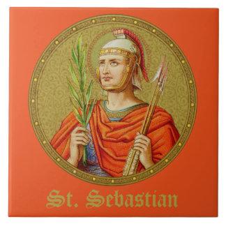 St. Sebastian (SNV 24) (Round Image) Tile 1