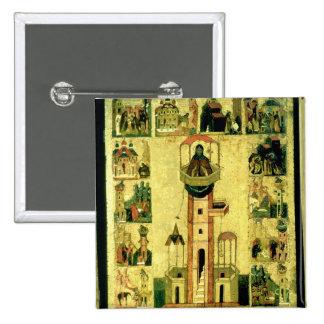 St. Simeon, 16th century Pinback Buttons