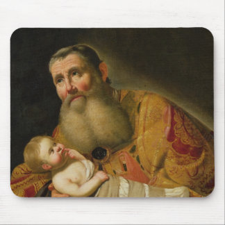 St. Simeon Presenting the Infant Christ Mouse Pad