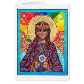 St. Sophia Holy Wisdom Card