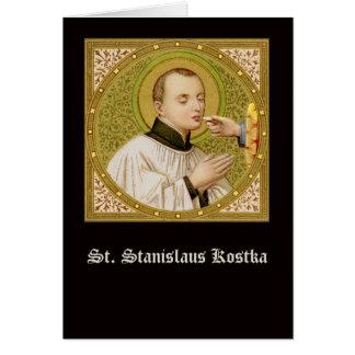 St. Stanislaus (SNV 25) (SquImage) Vert Greeting Card