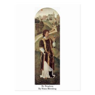 St. Stephen By Hans Memling Postcard
