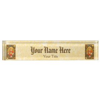 St. Stephen the ProtoMartyr (PM 08) Name Plates