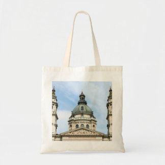St Stephens Basilica and Clock Tower in Budapest Bag