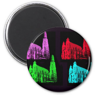 St. Stephen's Cathedral Collage Magnet