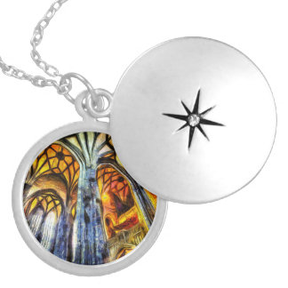 St Stephens Cathedral Vienna Art Locket Necklace