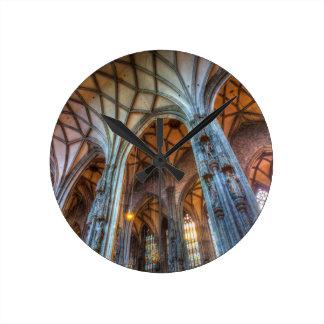 St Stephens Cathedral Vienna Round Clock