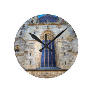 St Stephen's Cathedral Vienna Round Clock
