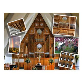St Stephen's Church, Seattle, montage Postcard