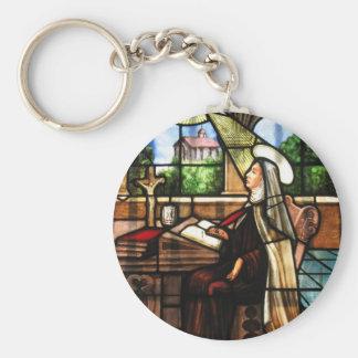 St. Teresa of Avila (3) Basic Round Button Key Ring