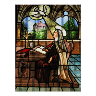 St. Teresa of Avila, Doctor of the Church Poster