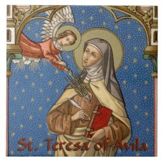 St. Teresa of Avila (SAU 28) Ceramic Tile