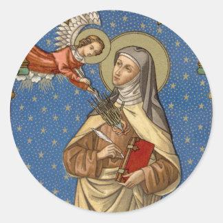 St. Teresa of Avila (SAU 28) Classic Round Sticker