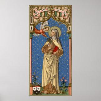 St. Teresa of Avila (SAU 28) Poster
