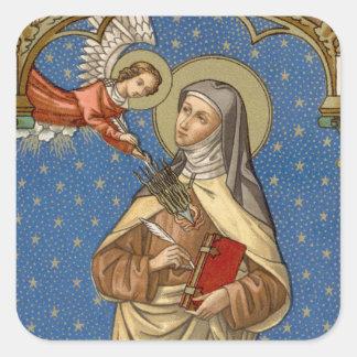 St. Teresa of Avila (SAU 28) Square Sticker