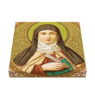 St. Teresa of Avila (SNV 27) Canvas Print