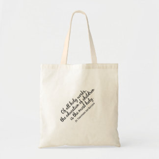 St. Theophan the Recluse on Education Budget Tote Bag