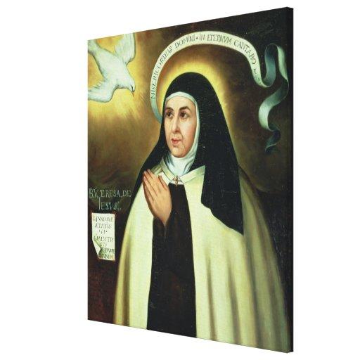 St. Theresa of Avila  1570 Canvas Print