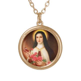 St. Thérèse of Lisieux the Little Flower Necklace
