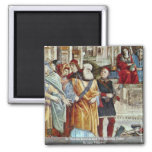 St. Thomas Aquinas And The Heretics Detail Fridge Magnet