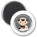 St. Thomas Aquinas Fridge Magnet