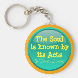 St Thomas Aquinas keychain