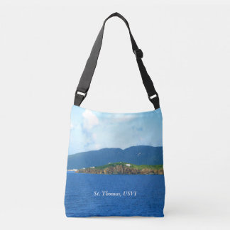 St Thomas Arrival Custom Tote Bag