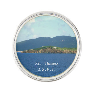 St. Thomas Arrival Lapel Pin