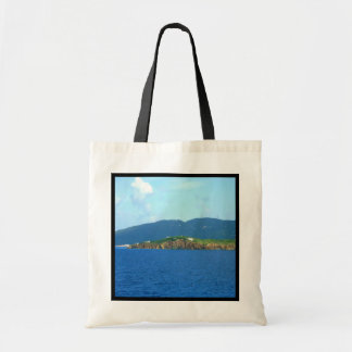 St. Thomas Arrival Scenic Budget Tote Bag