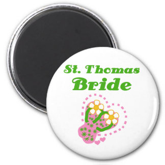 St. Thomas Bride Magnet