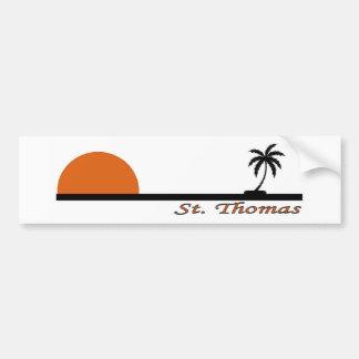 St. Thomas Bumper Sticker