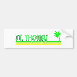 St. Thomas Bumper Stickers
