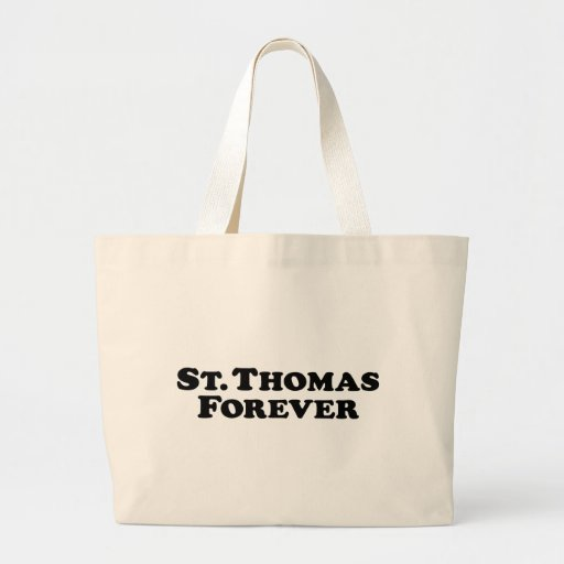 St. Thomas Forever - Basic Canvas Bags