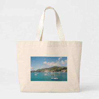St. Thomas island Jumbo Tote Bag