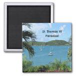St. Thomas, Paradise! Refrigerator Magnet