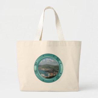 St Thomas Porthole Jumbo Tote Bag