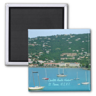 St. Thomas Sailboats Magnet