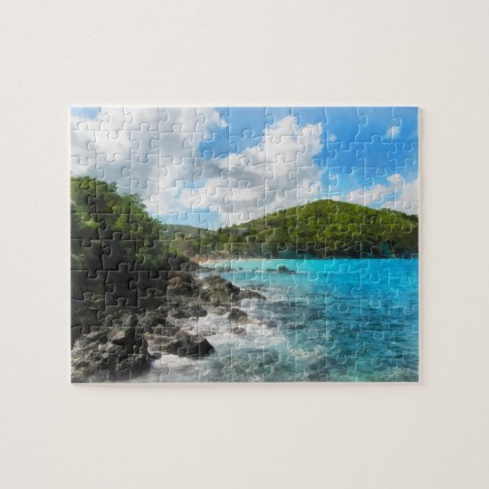 St. Thomas Shoreline Jigsaw Puzzle