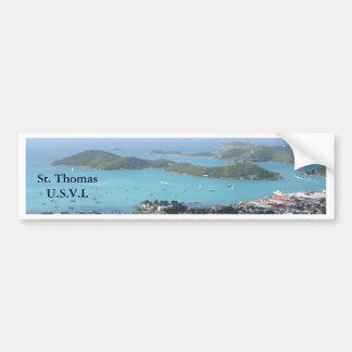 St Thomas U S V I Bumper Stickers