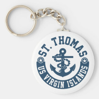 St. Thomas US. Virgin Islands Key Ring