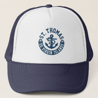 St. Thomas US. Virgin Islands Trucker Hat