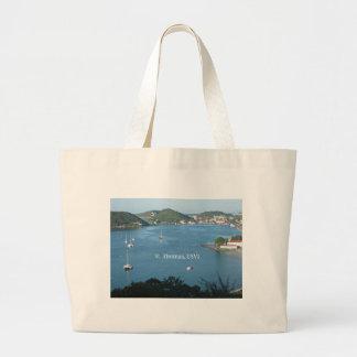 St. Thomas, USVI Jumbo Tote Bag