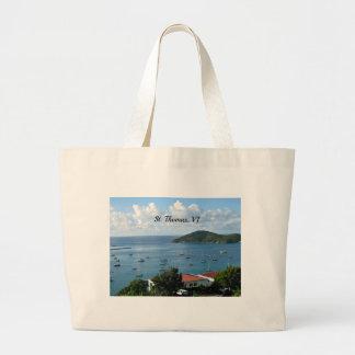 St. Thomas, VI Jumbo Tote Bag